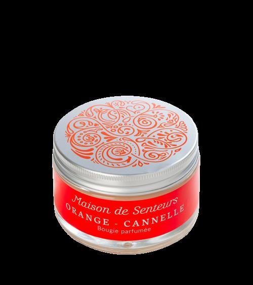 Bougie parfumée Cannelle Orange - Maison de Senteurs - Tunisie
