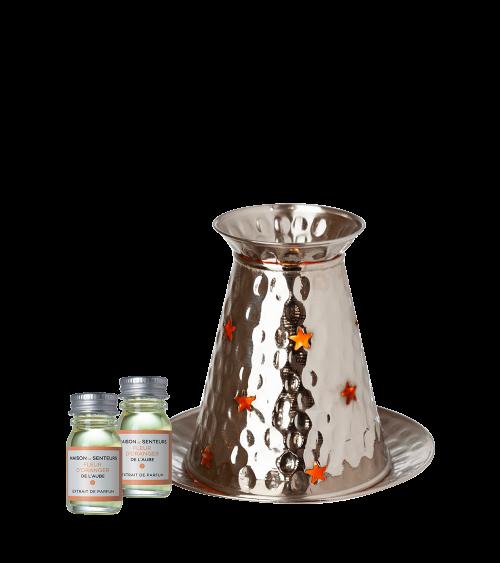 Brule parfum cuivre Fleur d'Oranger de l'aube - Maison de Senteurs - Tunisie