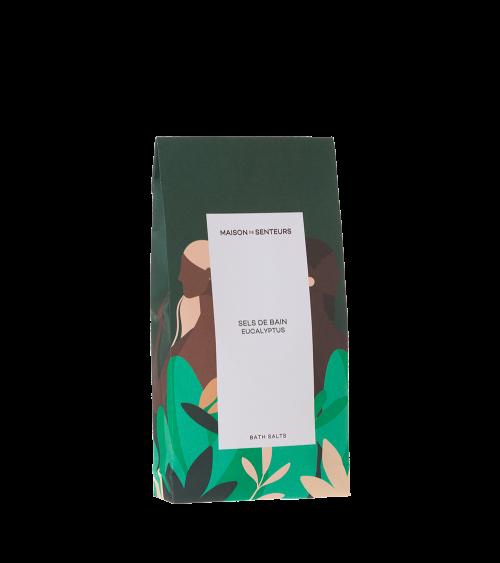 Sels de bain Eucalyptus - Maison de Senteurs - Tunisie