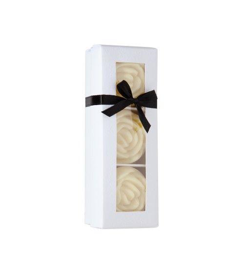Pack de 3 Savons Fleur d'Oranger Fleur - Maison de Senteurs