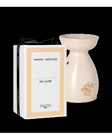 Brule parfum céramique Fleur d'Oranger de l'aube - Maison de Senteurs - Tunisie - 2